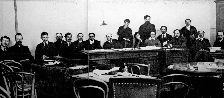 Consejo de Comisarios del Pueblo -12-1917_01-1918