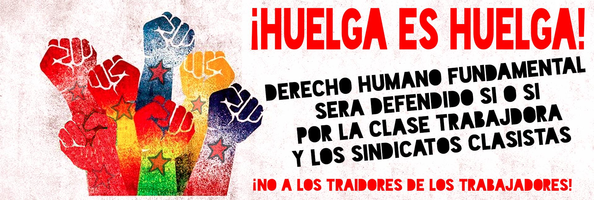 derecho a huelga