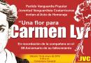 """""""Una flor para Carmen Lyra"""""""