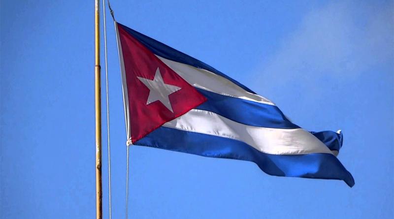La Bandera de la Estrella Solitaria. Foto: Jorge Luis Rivera/ Cubadebate