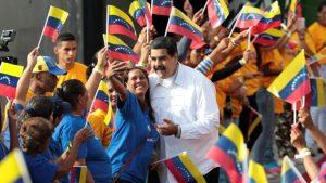 El gobierno de Maduro cuenta con el respaldo de su pueblo.