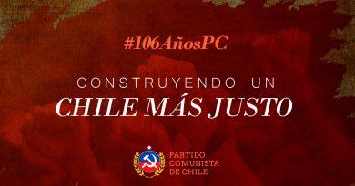 106 Años PC: Construyendo un Chile más justo