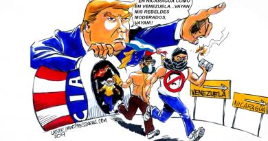Nuestra lucha contra el imperialismo y por la autodeterminación de los pueblos es un principio inalterable de los vanguardistas