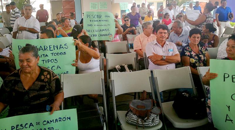 Puntarenas protestó contra el gobierno