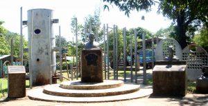 Monumento en el parque La Mansión