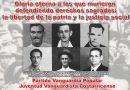 Gloria eterna a los que murieron defendiendo derechos sagrados: la libertad de la patria y la justicia social