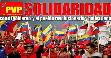 Esta es la hora de la solidaridad con el hermano pueblo venezolano
