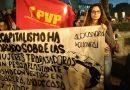 JVC en la marcha del Día Internacional de la Mujer Trabajadora