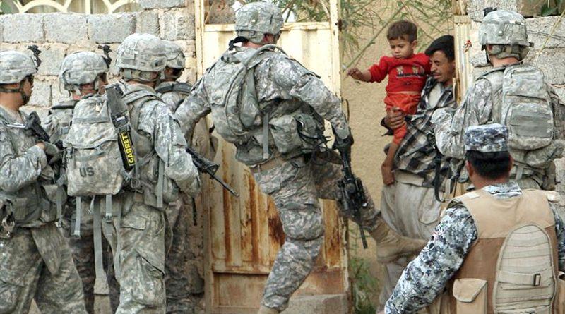 Terrorismo de EE.UU en Iraq, lo mismo quiere para Venezuela.