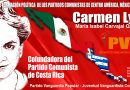 """Costa Rica fue sede de la Escuela Mesoamericana de Jóvenes Comunistas """"Carmen Lyra"""""""