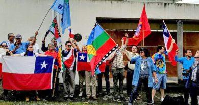 Costarricenses solidarios con el pueblo chileno