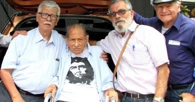 Hasta siempre camarada Antonio «Toño» Barrantes
