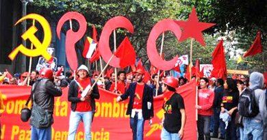 Paro Nacional contra el paquetazo neoliberal en Colombia