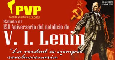 A 150 años del natalicio de Lenin su obra cobra mayor vigencia