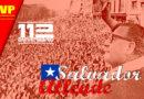 Saludamos al pueblo chileno por el 112 aniversario del natalicio de Salvador Allende