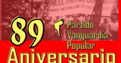 Calendario de actividades del 89 Aniversario del PVP