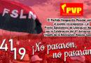 PVP saluda el 41 Aniversario del Triunfo de la Revolución Popular Sandinista