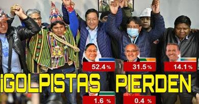 PVP: Nuestra felicitación al hemano pueblo de Bolivia
