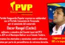 PCV: Condenamos el vil asesinato del camarada Oscar Rangel… ¡Presente por siempre!