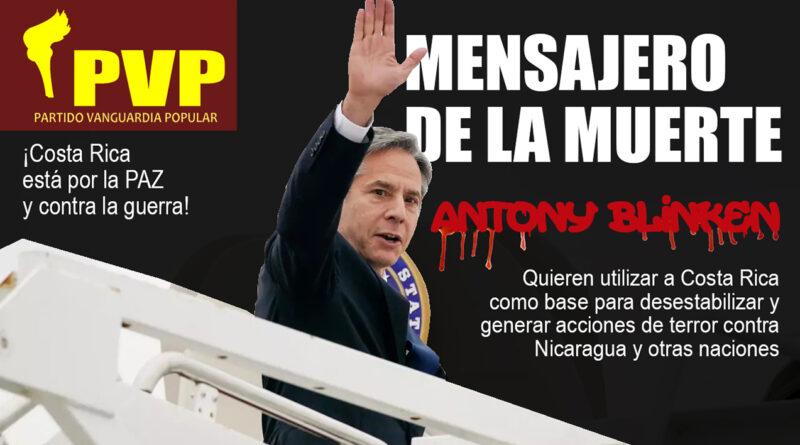El Partido Vanguardia Popular llama a defender la Paz y condena injerencia norteamericana que incita a la guerra y la muerte