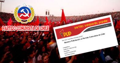 PVP saluda al Partido Comunista de Chile en su 109 Aniversario