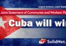 Resolución Solidaria de los Partidos Comunistas y Obreros en apoyo a la lucha del Partido Comunista de Cuba
