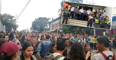 PVP condena represión contra estudiantes y recorte al presupuesto universitario