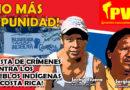El Partido Vanguardia Popular condena el asesinato de otro indígena que defendía su tierra