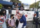 La JVC y otras organizaciones se manifestaron frente a Hacienda contra negociación con el FMI