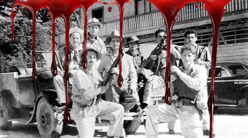 1957: Por las conquistas de que hoy se enorgullece el presidente Figueres, el Partido de los trabajadores fue salvajemente perseguido