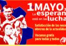 DECLARACIÓN DE LA FSM CON MOTIVO DEL PRIMERO DE MAYO DE 2021