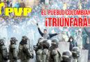 El Partido Vanguardia Popular reitera su solidaridad y su respeto al valiente pueblo colombiano