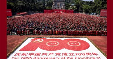 PVP saluda al Partido Comunista de China