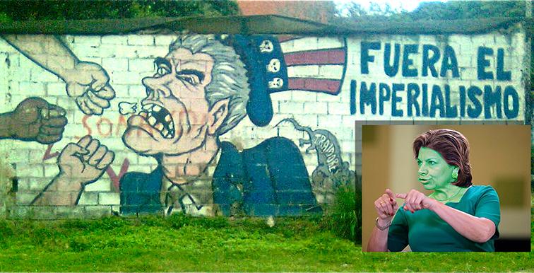 Dos notas: Una sobre el patriotismo como arma de los pueblos contra el imperialismo y otra Sobre los desvaríos contra Nicaragua de doña Laura Chinchilla Miranda